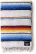 Mexican Blankets Premium Serape Falsa Blankets for Yoga, Beach