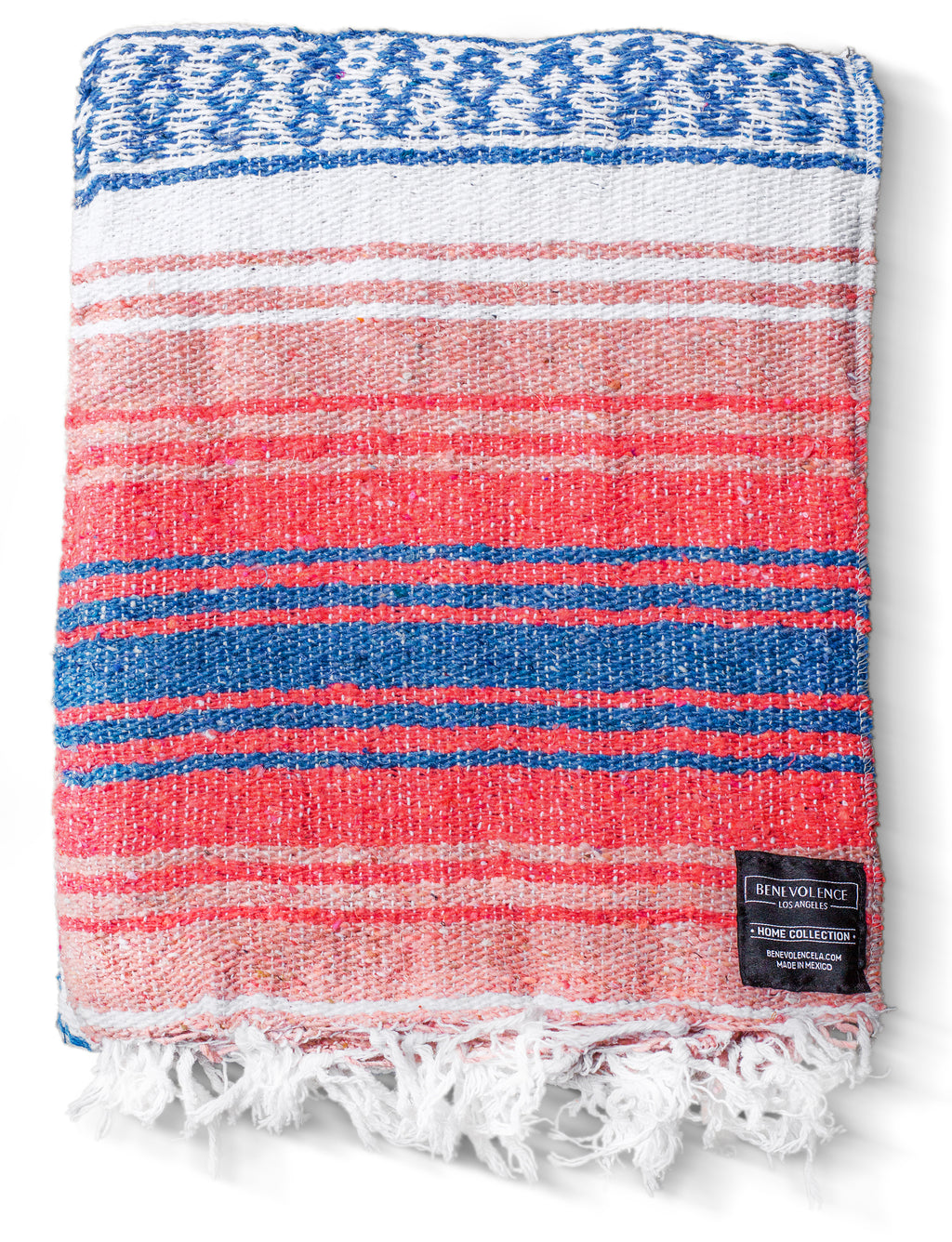 Mexican Falsa Blanket (Coral)