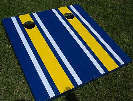 Striped Cornhole Set