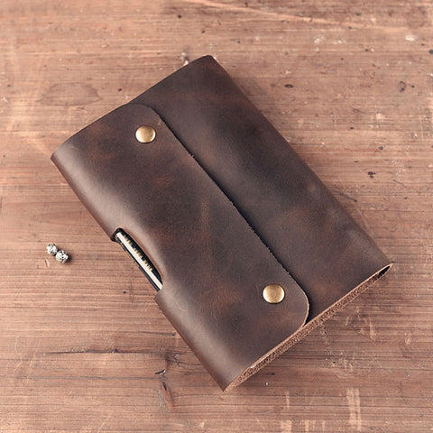 Split Leather Notebooks School Tools Vintage Style Notebook Office Accessories Travelers Notebook Handmade High Quality