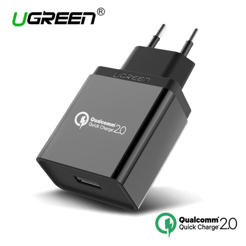 Ugreen Quick Charge 2.0 Phone USB Charger,USB Wall Charger Smart Fast Mobile Charger for Samsung S6 Edge Sony Z3 Quick Charger