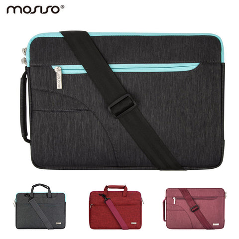 Mosiso Laptop Shoulder Bag 11.6 13.3 15.6 inch Polyester Notebook Carry Handbag Case for MacBook Pro Air 11 12 13 15 Asus HP