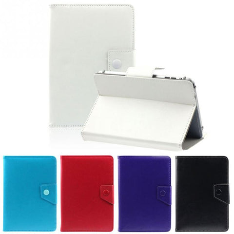 Hot Selling Universal PU Leather Stand Cover Case For 7 Inch Tablet PC Pure Color Free Shipping