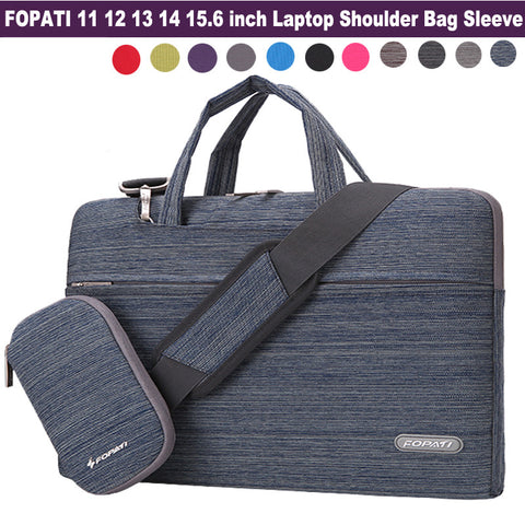 2016 Fashion 11,12,13,14 15.6 inch Laptop Bag Notebook Shoulder Messenger Bag Men Women Handbag Sleeve for Macbook Air Pro Case