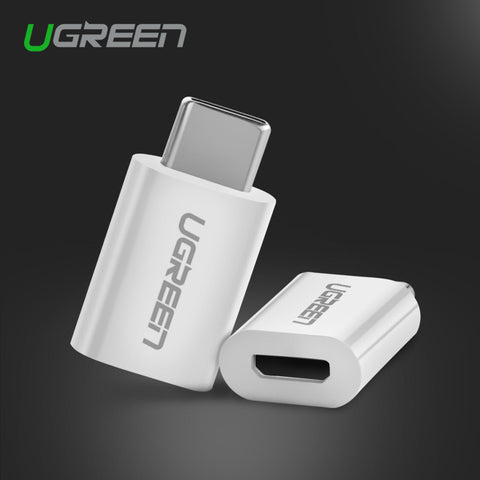 Ugreen Type C USB 3.1 Type-C to Micro USB Cable Adapter Converter for Xiaomi 4C Lg G5 Nexus 5x 6p Oneplus 2 Macbook Chromebook