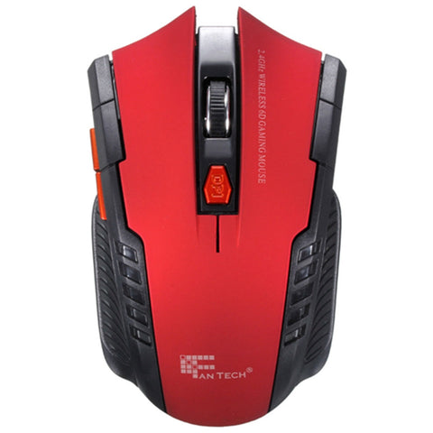 New 2.4Ghz Mini Portable Wireless Optical 2000DPI Adjustable Professional Gaming Game Mouse Mice For PC Laptop