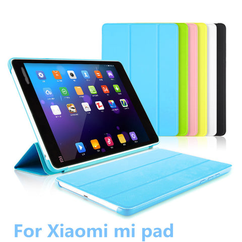 "Ultrathin Case For Xiaomi Mipad 1 7.9"" Smart Tablet Cover With Automatic Sleep Wake Up Function Shell For Xiaomi Mi Pad 1 A0101"