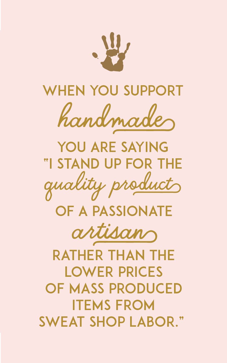 Little A & Co. Artisan Quote
