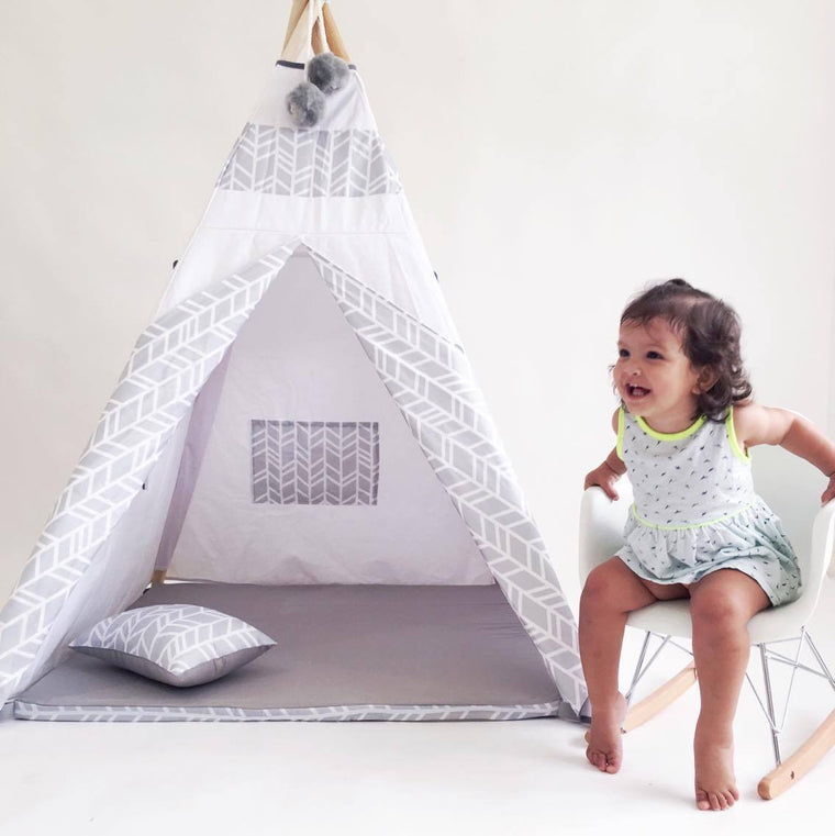The Minimalist - Children Teepee - teepee - Pottly N Tubby - Little A & Co.