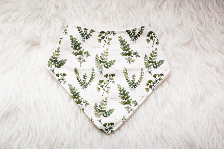 Fern Super Drool Bandana - Bibs - ReFluff - Little A & Co.
