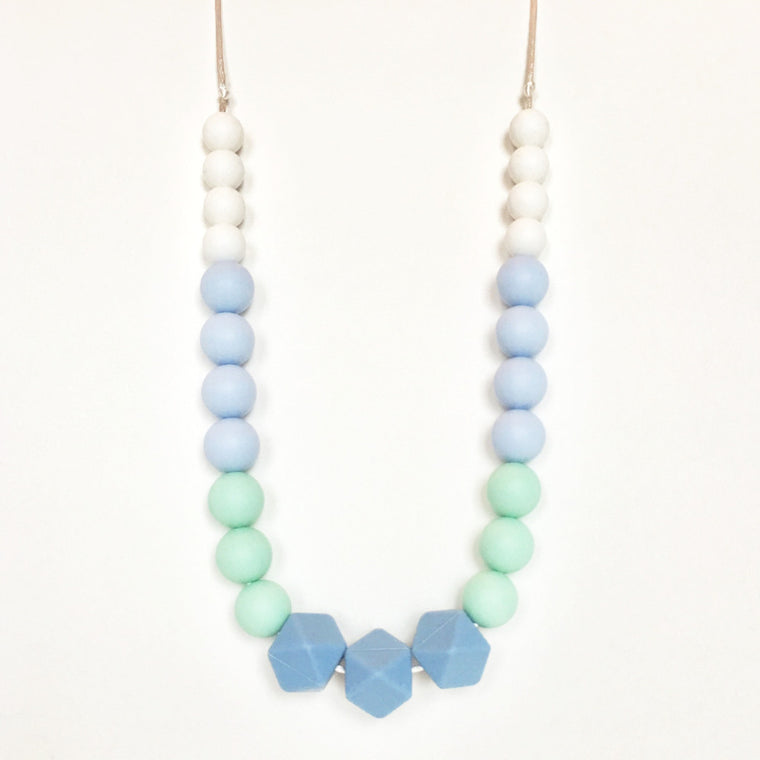 Marina - Silicone Teething Necklace - teether - Sweetie Pie Design Co. - Little A & Co.