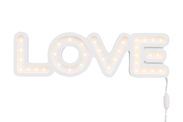 L.O.V.E - Marquee Art - Pulp Function - Little A & Co.
