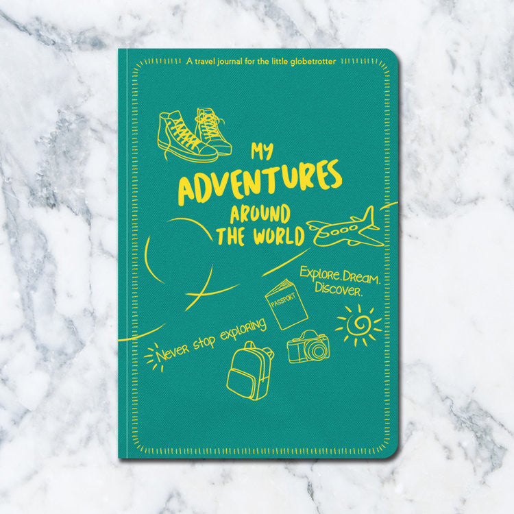 The Little Globetrotter's Travel Journal - Journal - Travel Bandits - Little A & Co.