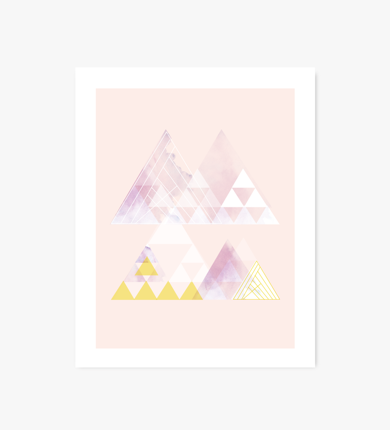 Alchemy geometric art print - Art Prints - Graphic Anthology - Little A & Co.