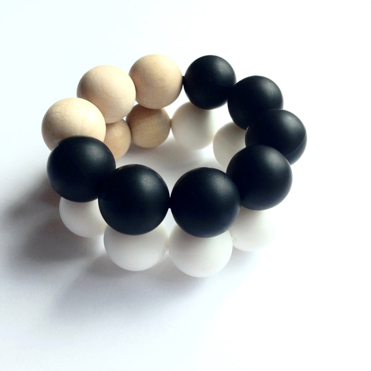 Grand Teething Bracelet - teether - Sweetie Pie Design Co. - Little A & Co.