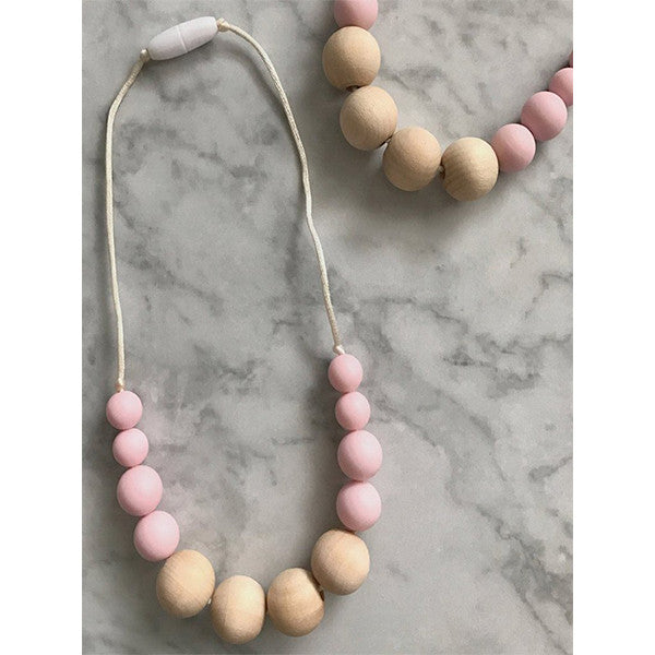 Juliet Silicone Toddler Necklace - children accessories - Sweetie Pie Design Co. - Little A & Co.