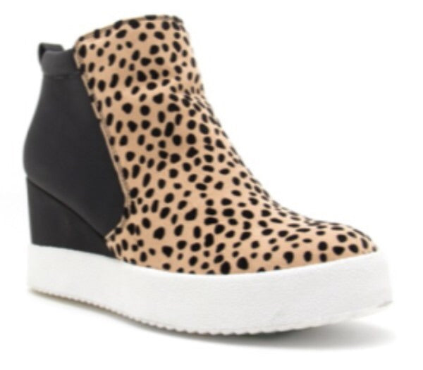 Rodin Wedge Sneakers Leopard