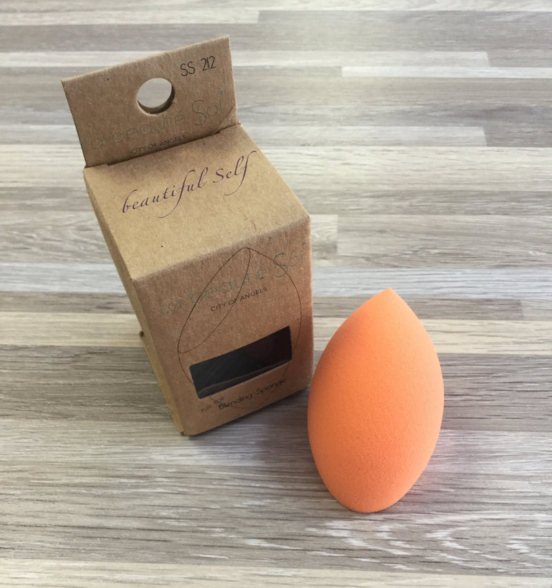 Orange Flat Top Beauty Blender