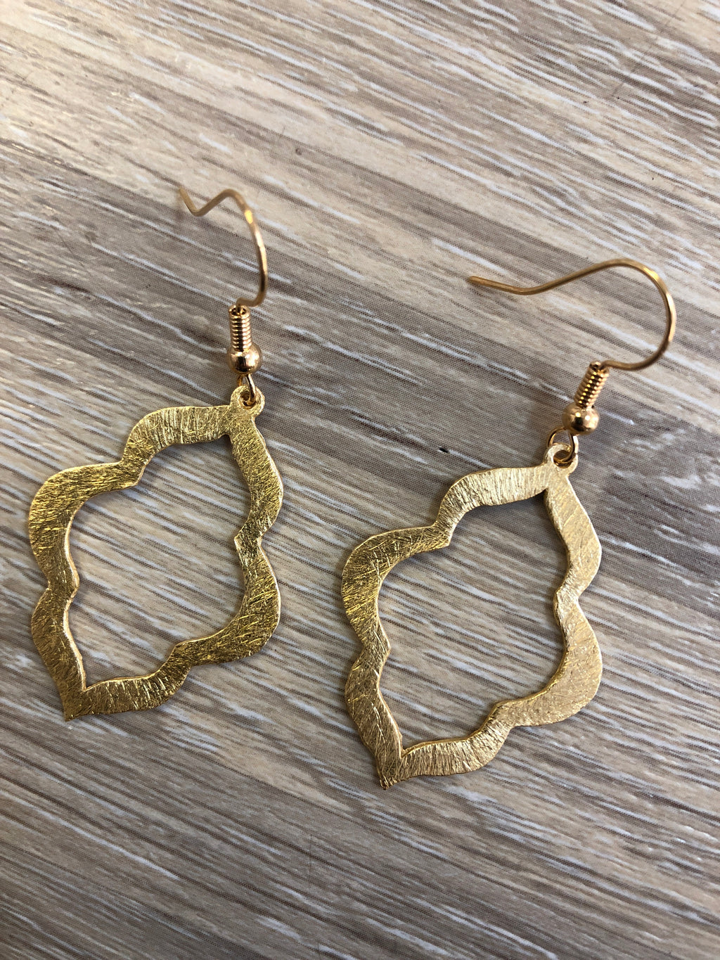 Mini Keyhole Earrings
