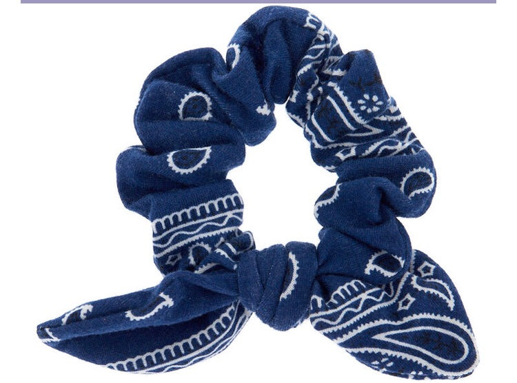 Paisley Bow Scrunchie
