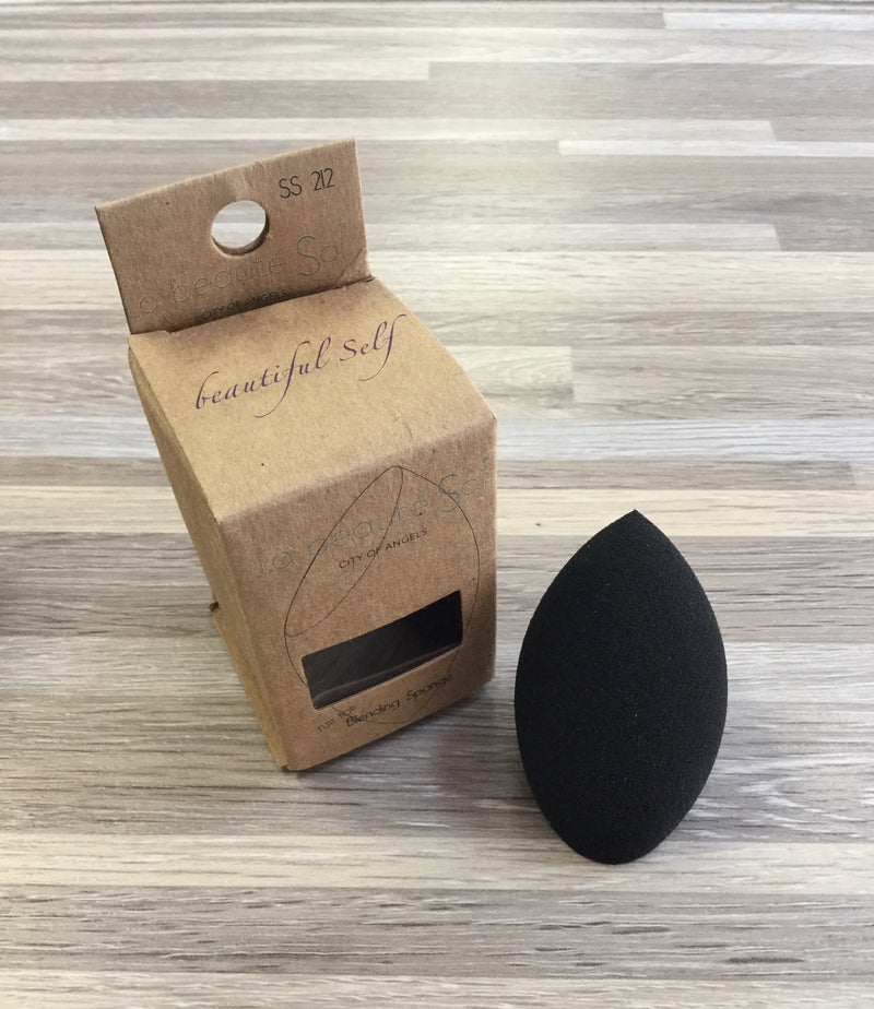 Black Flat Top Beauty Blender
