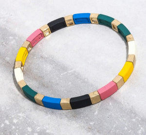 Mixed color Enamel Bracelets