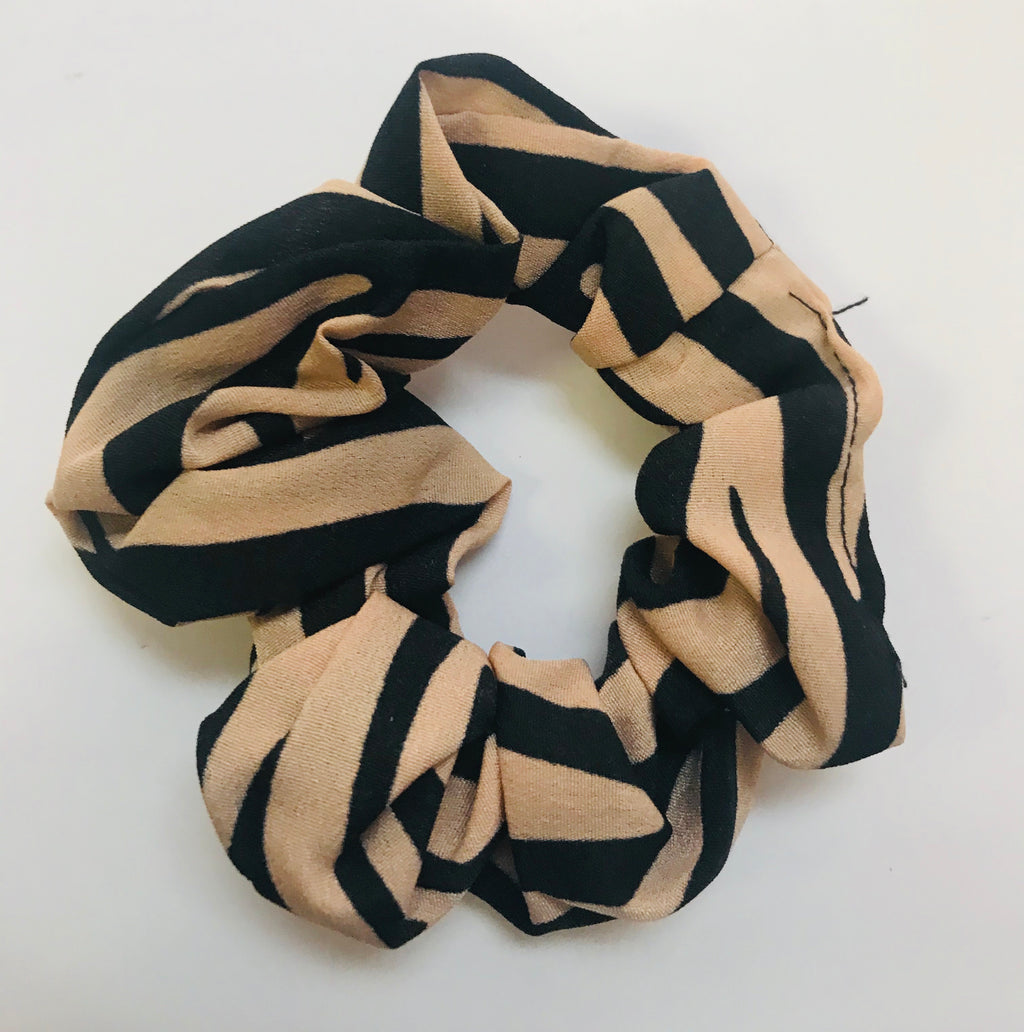Kellie striped Scrunchie