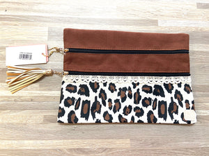 The Versi Bag Leopard and Lace