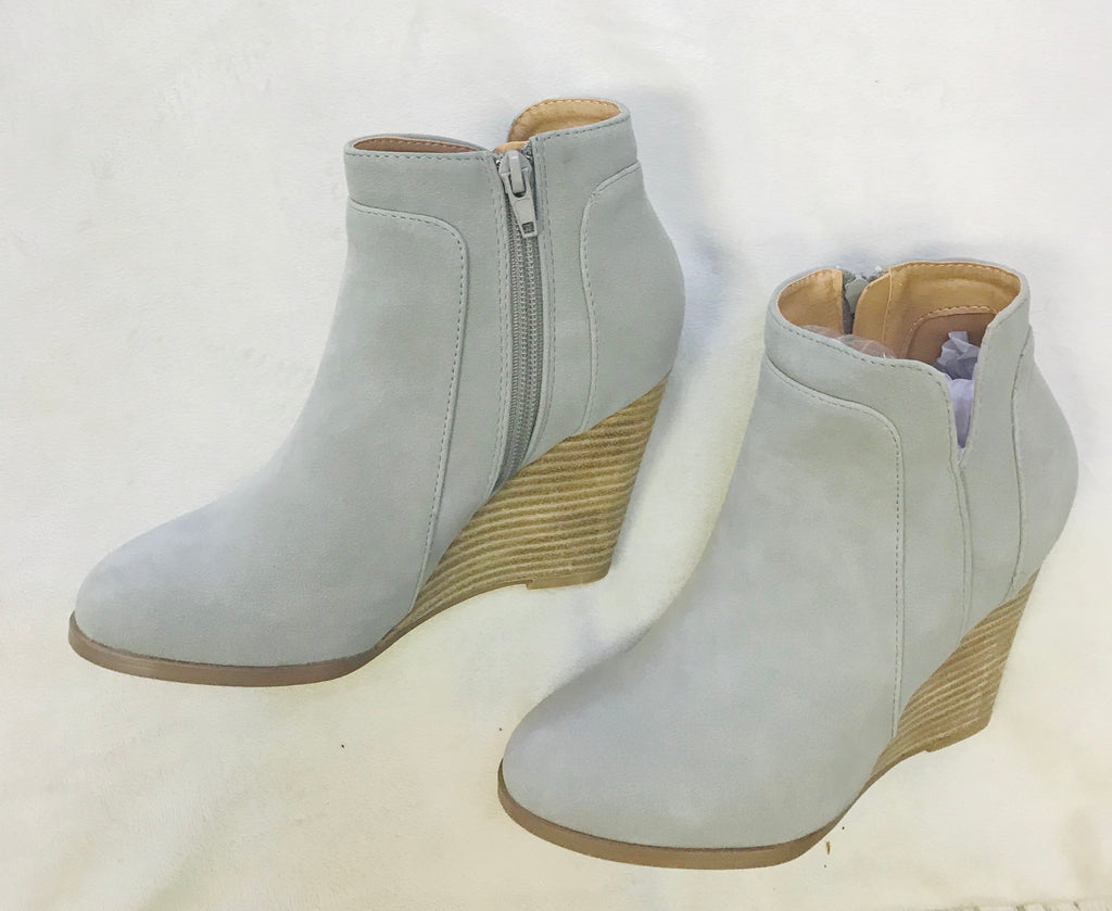 Sydney Wedge Booties
