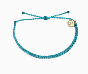 Mini Braided Pura Vida Pacific Blue