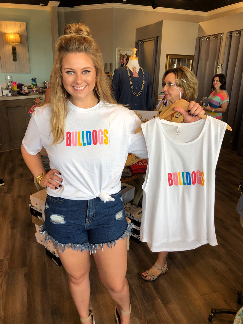 Rainbow Bulldogs Tank