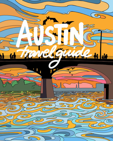Austin Coloring Book Travel Guide