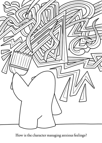 Austin Coloring Presents... The Social Emotional Learning Coloring Boo –  Borrelli Illustrations