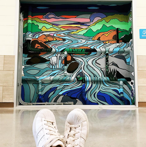 Dripping-Springs-Elementary-Mural-by-Becca-Borrelli