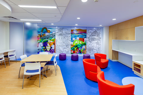 University-Hospital-Cleveland-OH-Mural-by-Becca-Borrelli