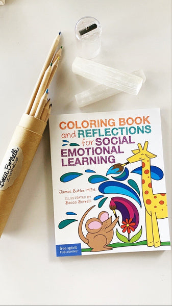 Back to School Coloring Kit