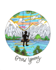 Grow Young Original - Borrelli Illustrations