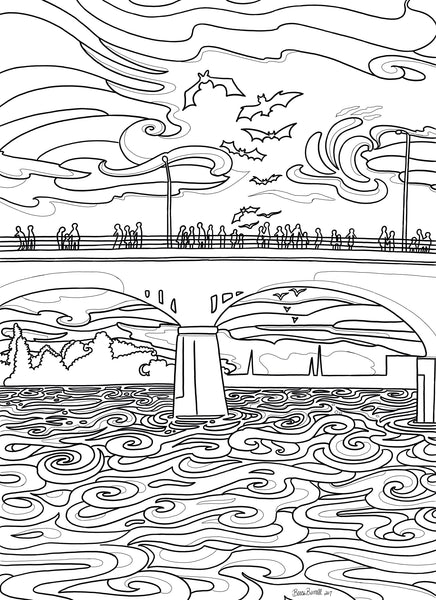 Coloring Pages | Borrelli Illustrations