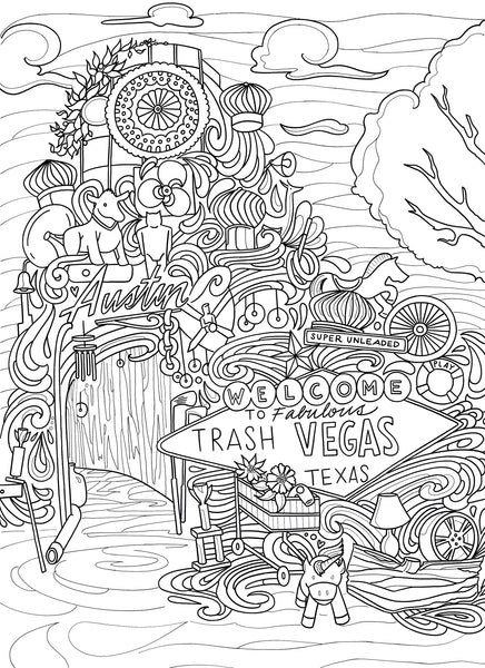 Coloring Pages Borrelli Illustrations