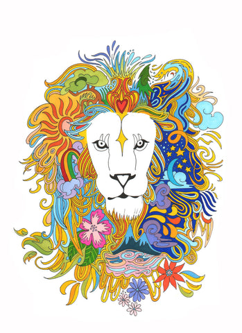 Leo Season Print - Borrelli Illustrations
