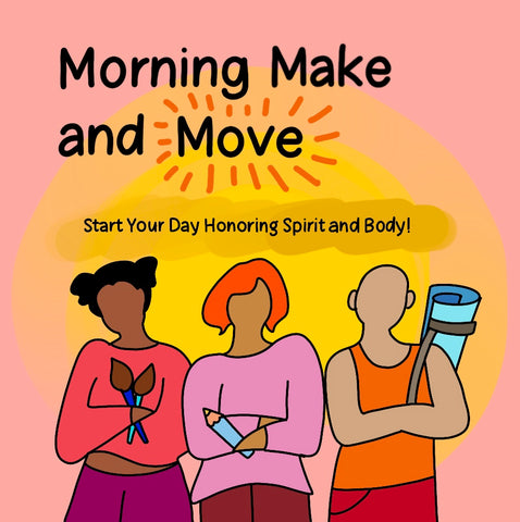 May Morning Make and Move Online Class - Borrelli Illustrations