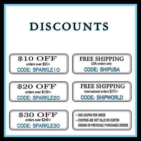 Coupon Promo Codes Wedding Bride Bridal Prom Sparkly Shoes