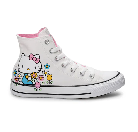 HELLO KITTY HIGH TOP LAST PAIR SALE - SIZE 9.5