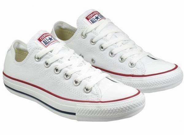 Mens Converse All Star White Classic Sneakers Shoes Personalized wedding Groom