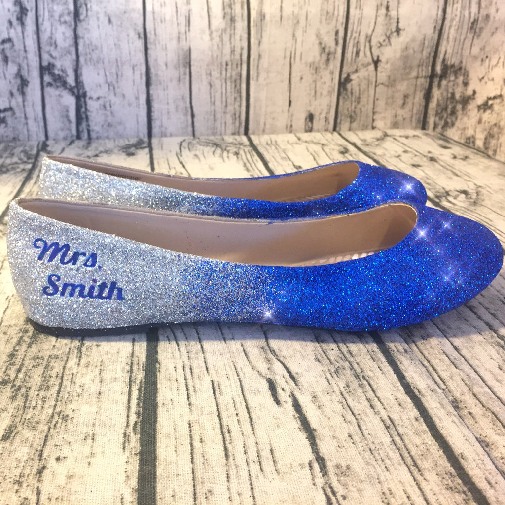 Personalized Converse Toms Nike Heels