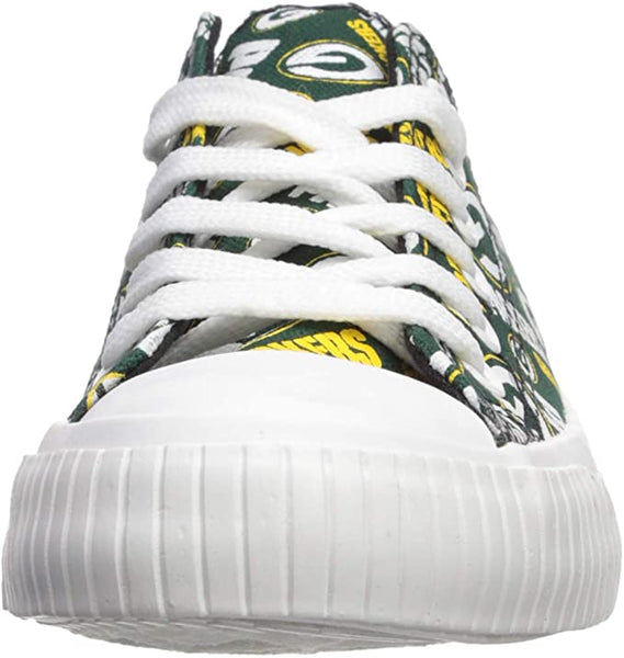GREEN BAY PACKERS TENNIS SHOE SNEAKERS LAST PAIR SALE - SIZE Small