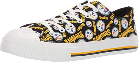 SALE WOMENS STEELERS SNEAKERS FOOTBALL SHOES