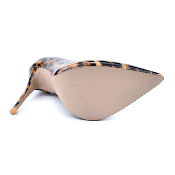 WOMENS LEOPARD POINTY LAST PAIR SALE - Size 5