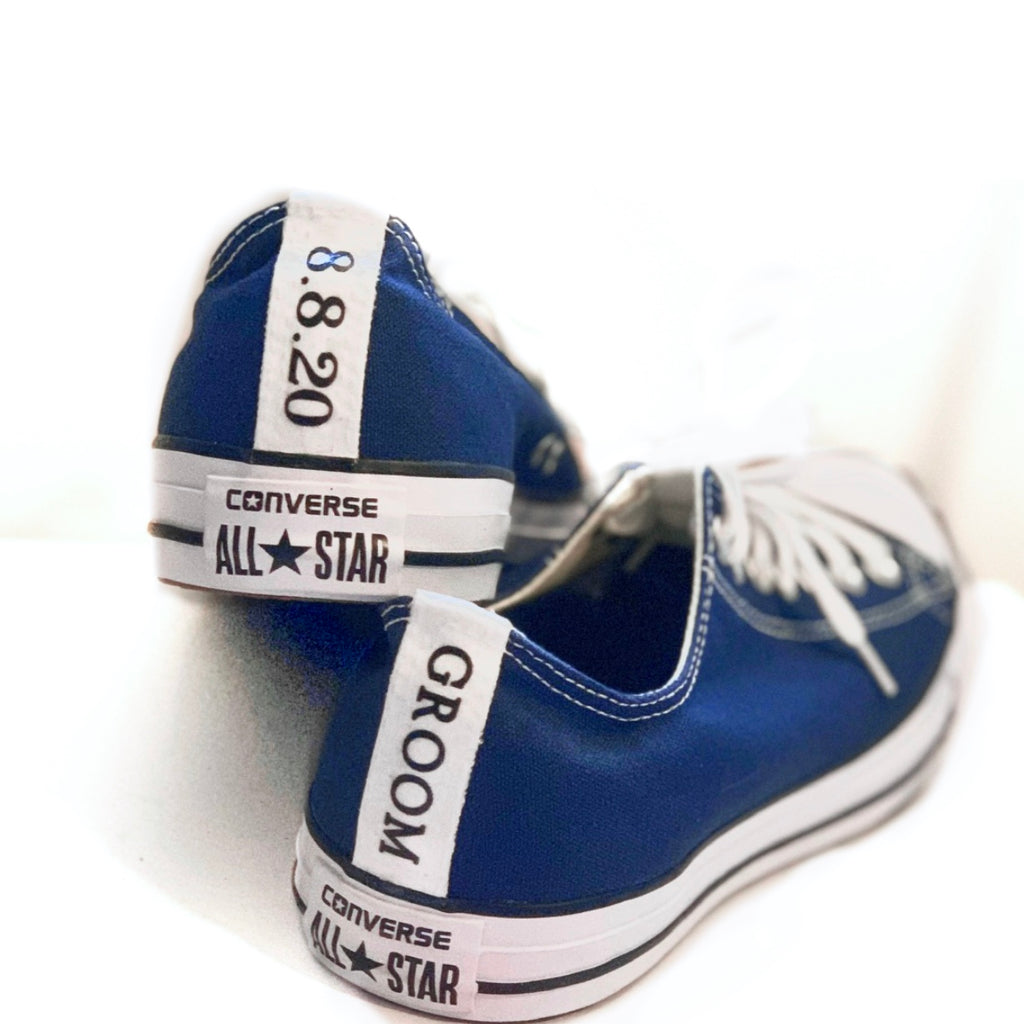 Mens Converse All Star Navy Sneakers