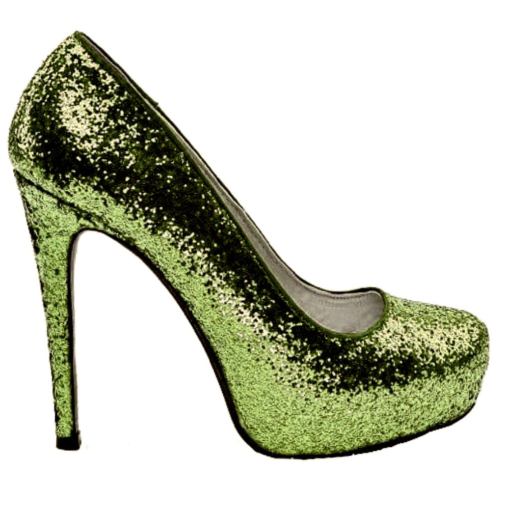 Sage Green Wedding Shoe